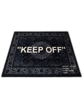 4998626c Shoptagr | Ikea Ikea Keep Off Rug 133x195 Black/White by Stock X