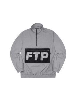 ce3a0993 Shoptagr | Ftp Mesh Pocket Half Zip Gray by Stock X