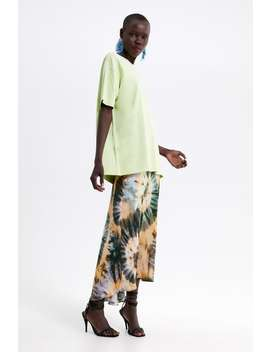 6d0eafc6 Shoptagr   Basic Oversized T Shirt View All T Shirts Woman by Zara