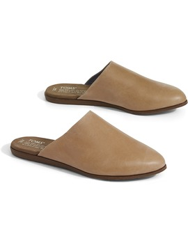 Honey Leather Women's Jutti Mules by Toms