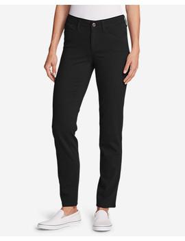 Women's Elysian Slim Straight Jeans   Color   Slightly Curvy by Eddie Bauer