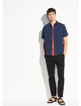 Multi Stripe Short Sleeve by Vince