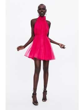 a5a7d119dd1c Shoptagr   Organza Mini Dress Must Haveswoman by Zara