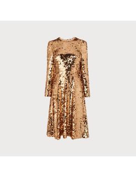 Laz Gold Sequin Dress by L.K.Bennett