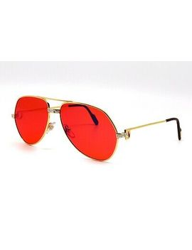 online here another chance lace up in Shoptagr | Glasses Cartier Vendome Santos Vintage Sunglasses ...