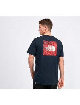 cb77f964d Shoptagr | Redbox Celebration T Shirt | Navy / Red by The North Face