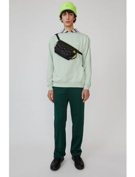 Oversized Sweatshirt Pistachio Green by Acne Studios