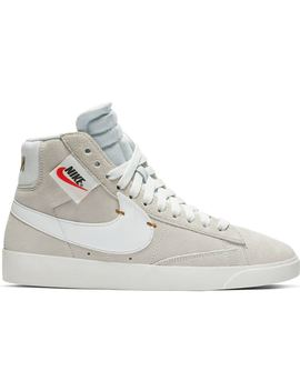 24e5323a Shoptagr | Nike Blazer Mid Rebel Off White (W) by Stock X