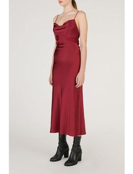 Open Back Silk Dress by Genuine People
