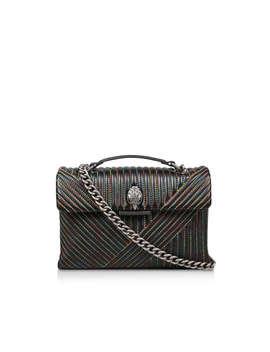 Leather Kensington V Bag by Kurt Geiger London