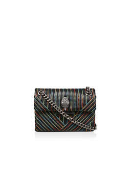 Lthr Mini Kens V Bag by Kurt Geiger London