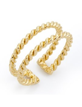 Liv Double Rope Ring by Brook And York