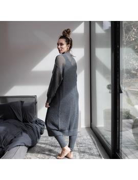 Cozy Cotton Silk Overlay Dress by Lunya