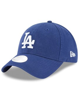 newest 6696e 9a404 MLBSHOP. Women s Los Angeles Dodgers New Era Royal Logo Core Classic Twill  Team Color 9TWENTY Adjustable Hat