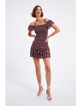 beaf4c876db ZARA. FLORAL PRINT DRESS VIEW ALLDRESSES-WOMAN
