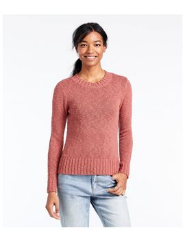 Signature Cotton Slub Sweater by L.L.Bean