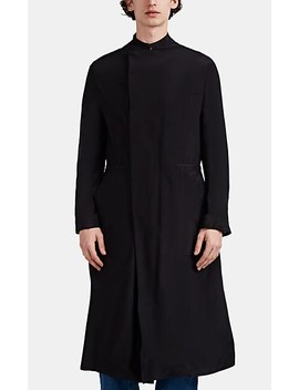 Crepe Trench Coat by Haider Ackermann