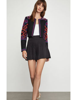 embroidered-cropped-jacket by bcbgmaxazria
