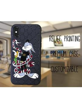 Gucci iphone XS max case, Bugs bunny iPhone X case, Snake phone case,  Supreme iphone XR case, gucci galaxy s10 plus case s9 s8 plus case