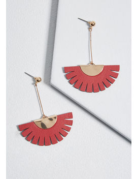 Fearlessly Fringed Earrings by Modcloth