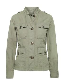 Cotton Linen Utility Jacket by Banana Repbulic