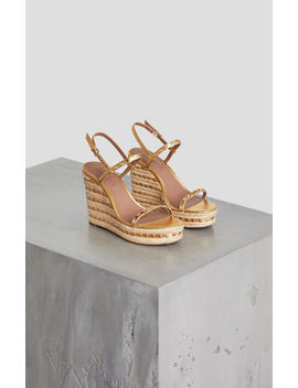 Paige Studded Wedge Sandal by Bcbgmaxazria