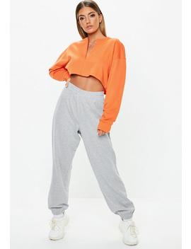 Petite Grey Joggers by Missguided