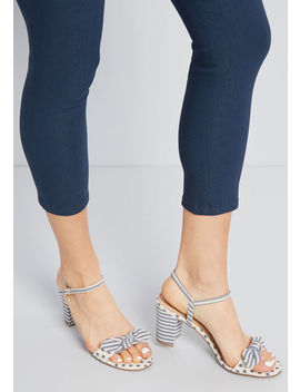 Unexpected Arrangement Heel by Modcloth