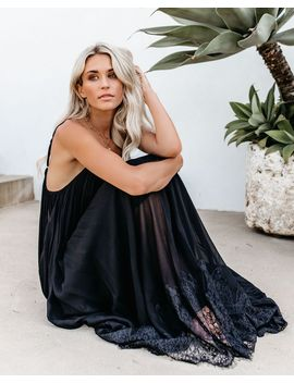 ccd779e4f0d0 Shoptagr | Enchanted By Your Love Lace Maxi Dress Black by Vici
