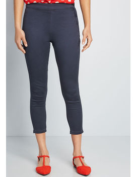 The Manhattan Cotton Pant by Modcloth