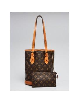 d3410c3031a Monogram Canvas Petite Bucket Bag W/ Accessories Pouch by Louis Vuitton