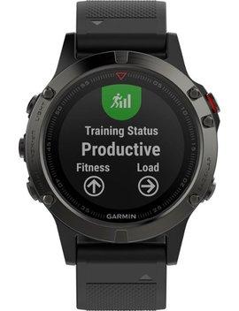 Fēnix® 5 Smartwatch 47mm Fiber Reinforced Polymer   Slate Gray With Black Band by Garmin