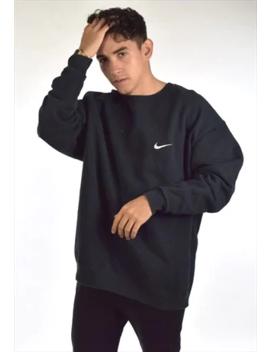 Navy Blue Nike Crew Neck Sweatshirt by Nike