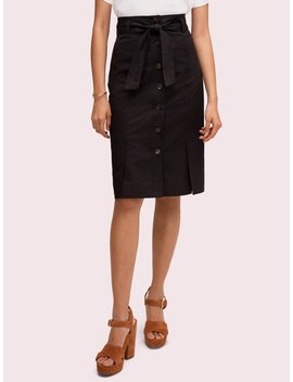 Button Pencil Skirt by Kate Spade