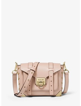 Manhattan Small Leather Crossbody Bag by Michael Michael Kors