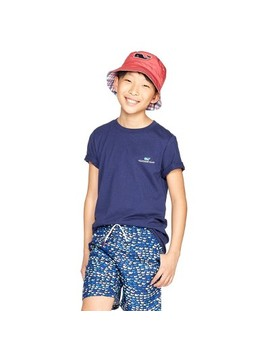 a30a4c8ef261 BUY AT TARGET · Boys' Short Sleeve Everyday Should Feel This Good Graphic  Crewneck T Shirt Navy Vineyard Vines