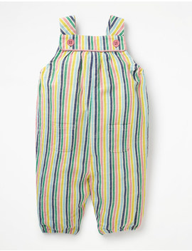 stripy-woven-dungaree---multi-candy-stripe by boden