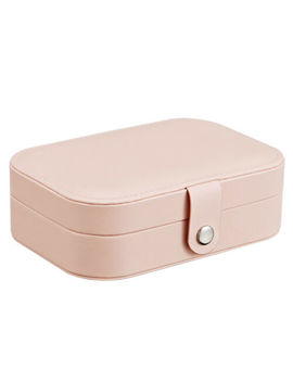 Travel Pu Leather Jewelry Storage Box Case Holder Earring Necklace Organizer Au by Unbranded
