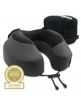 Cabeau Evolution® S3 Memory Foam Neck Travel Pillow Steel Grey by Cabeau