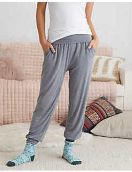Aerie Real Soft® Foldover Jogger by American Eagle Outfitters