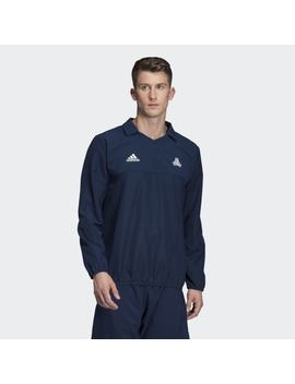 Tan Training Lightweight Woven Top by Adidas
