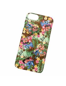 competitive price 86d9c ed871 Stitch & Lilo iPhone 6 6s 7 8 Case Cover Hawaiian Stitch Disney Store Japan