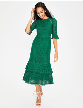 lana-lace-midi-dress---forest by boden