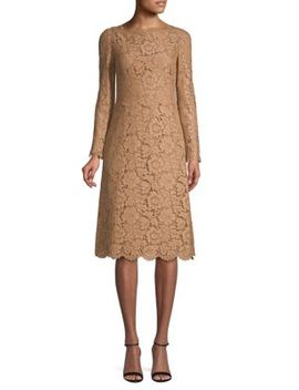 Floral Lace Dress by Valentino