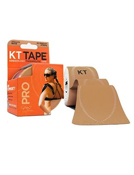 Kt Tape Pro Kinesiology Sports Tape, Latex Free, Water Resistant, Therapeutic Tape, Pro & Olympic Choice, Precut & Uncut Options, 1 Roll by Kt Tape