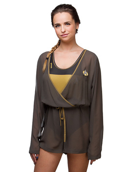 Star Trek Tng Cover Up Romper by Think Geek