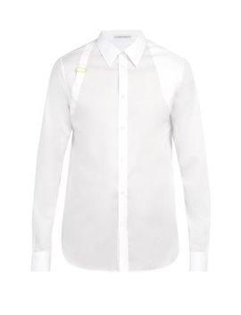 Harness Cotton Shirt by Alexander Mc Queen