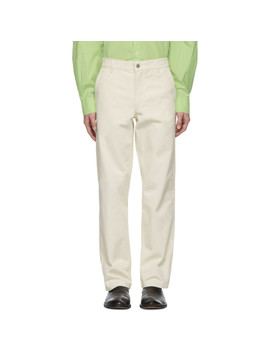 9a140130ead Shoptagr | Off White Organic Twill Josef Trousers by Norse Projects