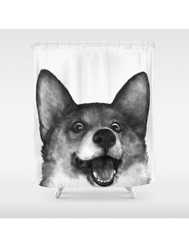 Corgi Shower Curtain by Society6
