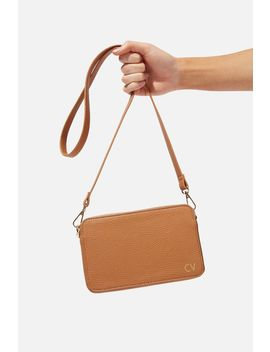 Personalised Stevie Boxy Cross Body Bag by Cotton On
